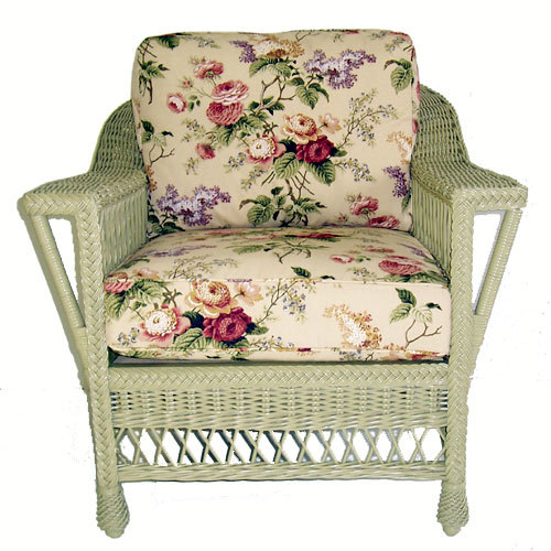 Bar Harbor Wicker Arm Chair