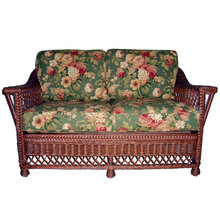 Bar Harbor Wicker Loveseat