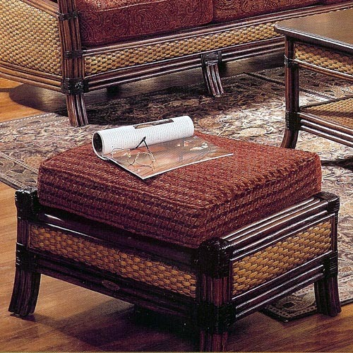 Rattan Wicker - Mandalay Ottoman