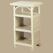 Wicker Telephone or Towel Table