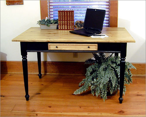 Southern Pine Charlestown Writing Desk