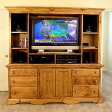 More about the 'Southern Pine Richmond Entertainment Center' product