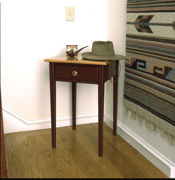 Southern Pine Revere Table with drawer