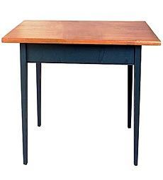 Southern Pine Small Kitchen Work Table