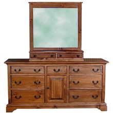 More about the 'Southern Pine Bayport Dresser with Mirror Stand' product