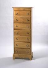 Southern Pine Presley 7 Drawer Chest