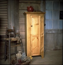 Southern Pine Colonial Jelly Cupboard