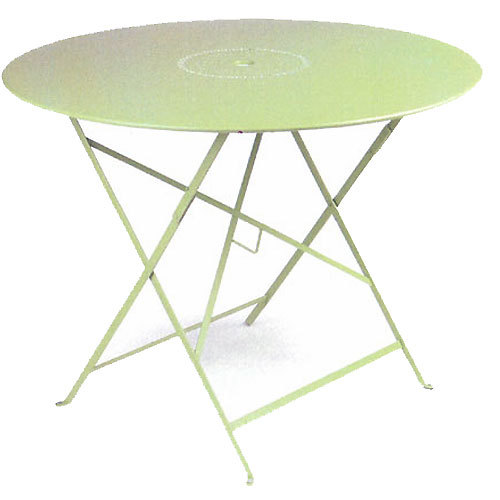 38 Inch folding Table with Perforations - Willow