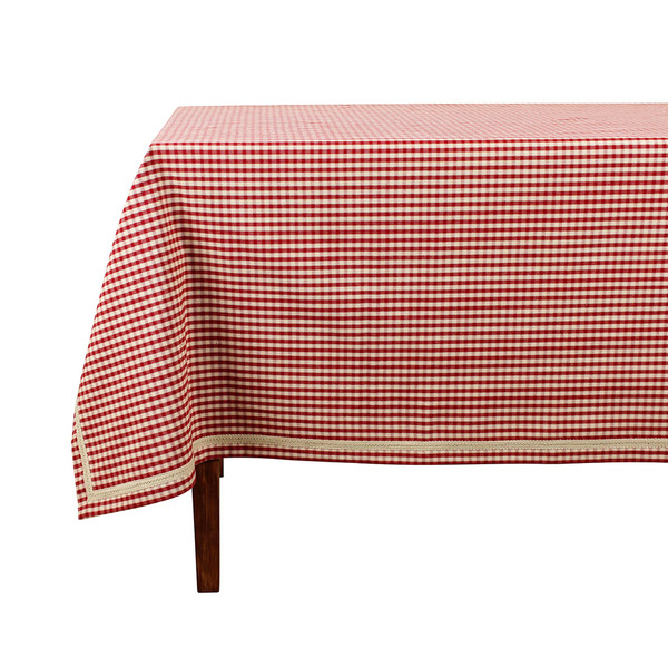 tablecloth side view