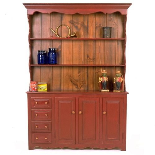 Southern Pine Pennsylvania Hutch American Country