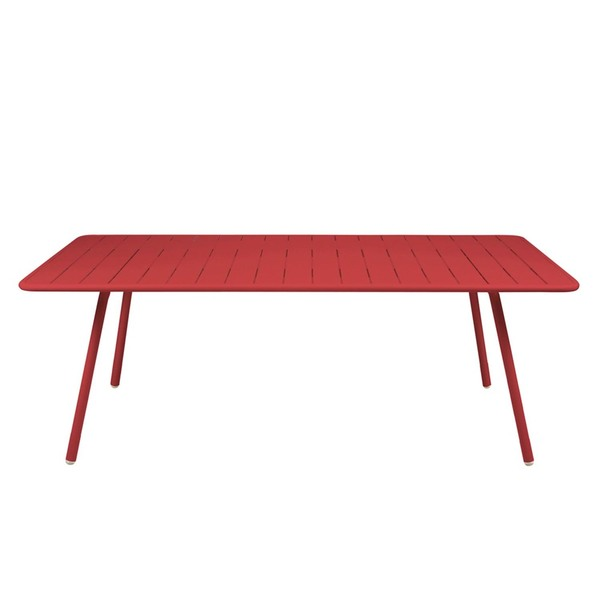 "Fermob Luxembourg  81.5""x 39.5"" Large Rectangular Table"