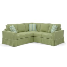 Devin Loveseat Sectional (3 pc)
