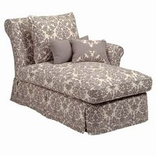 Layla Slipcovered One Arm Chaise