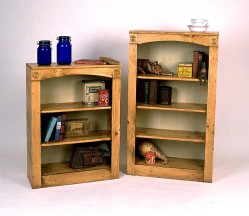 4205_06_small and large bookshelves - Pine Bookshelves