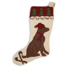 More about the 'Chocolate Lab Stocking' product
