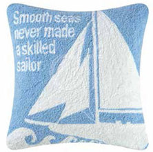 More about the 'White Sailboat Pillow' product