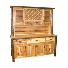 "More about the 'Hickory Buffet and Hutch - 75""' product"