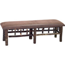 More about the 'Upholstered Hickory Bench' product