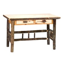 More about the 'Hickory Writing Desk with 2 Drawers' product