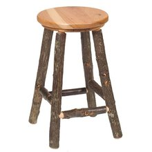 More about the 'Hickory Round Barstool & Counter Stool' product