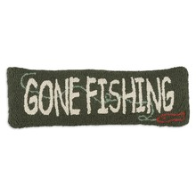 More about the 'Gone Fishing Hooked Pillow by Chandler 4 Corners' product