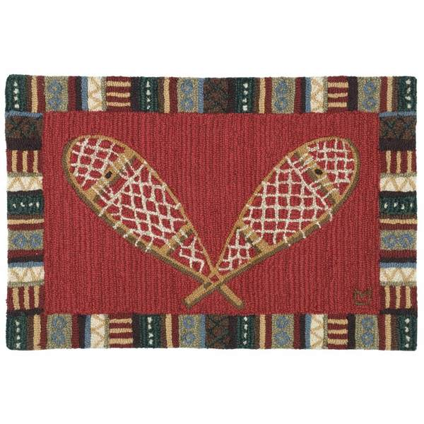 Little Snowshoes Rug