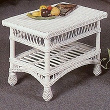 Harbor Front Wicker Coffee Table