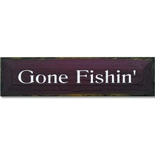 More about the 'Gone Fishin'' product