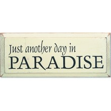 More about the 'Vintage Sign - Paradise' product