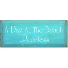 More about the 'Vintage Sign - Day at the Beach' product