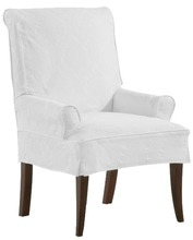 Parsons Arm Chair with Side Pleat
