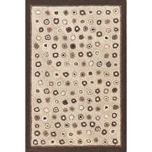 Cat's Paw Natural Hooked Wool Rug by Dash & Albert
