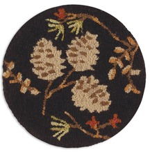 "More about the 'Set of 2 Pinecone Berries 14"" Chairpads' product"