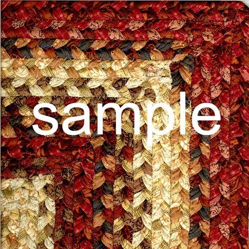 custom size braided rugs per sqfoot