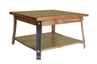 Square Stave Leg Coffee Table