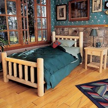 Classic Log Cabin Bed