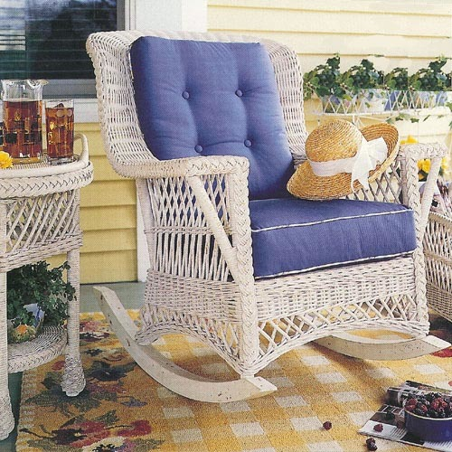 Rockport Wicker Rocker