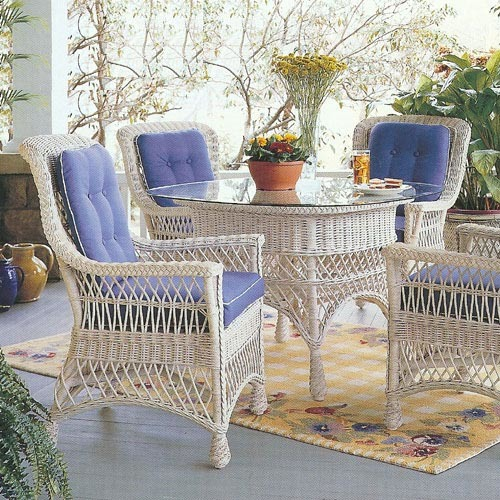 Rockport Wicker Dining Group
