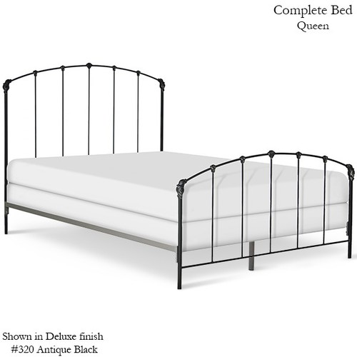 Cast Iron Bed American Country, Black Iron Bed Queen