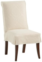 Parsons Chair with Side Pleat
