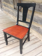 Southern Pine Fiddleback Chair