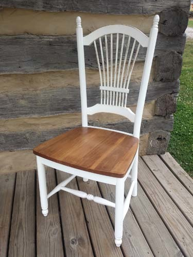 Southern Pine Sheafback Chair