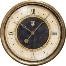 "More about the 'Caffe Venezia Azure Black 23"" Clock' product"