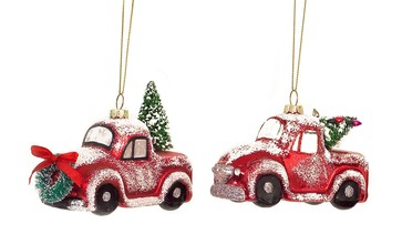 Vintage CarTruck Ornaments