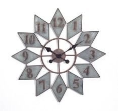 Vintage Metal Wall Clock 26.5""