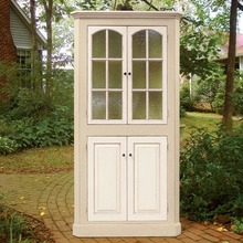 Four Door Corner Cupboard