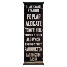 More about the 'London Subway Banner' product
