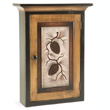 Pine Cone Wall Cabinet
