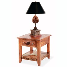 Pine Cone End Table