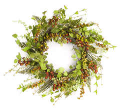 Mixed Berry/Foliage Wreath